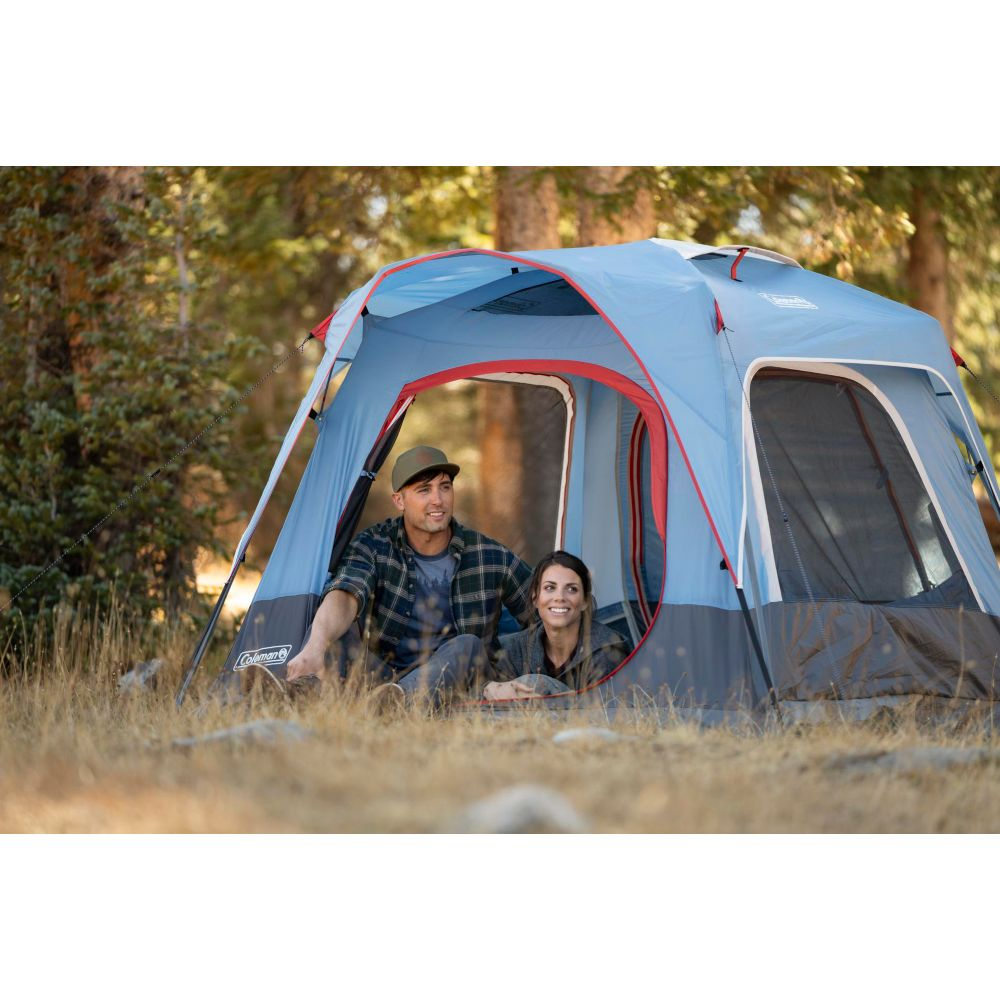 2462b6e416a ... Coleman 3-Person Connecting Modular Tent System with Fast Pitch Setup,  Blue image 2 ...