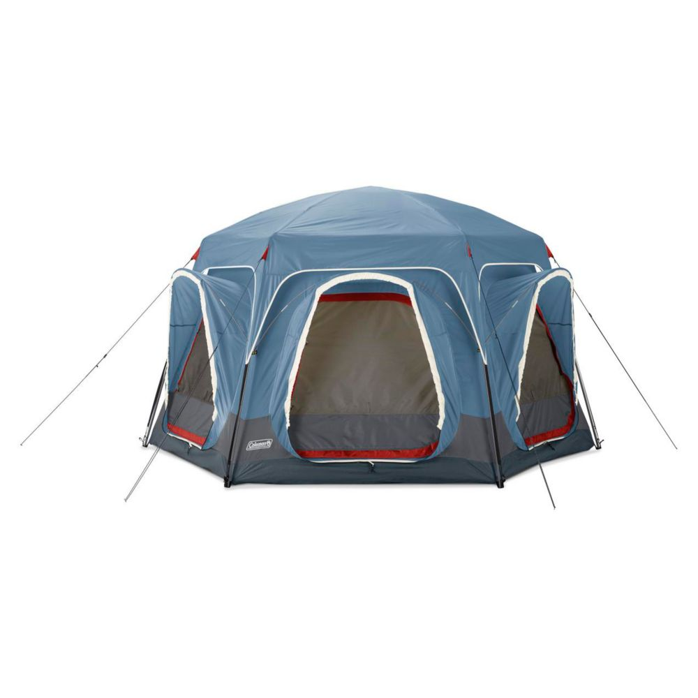 Coleman 6-Person Connecting Modular Tent System with Fast Pitch Setup, Blue