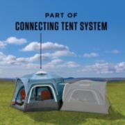 6-Person Connectable Tent with Fast Pitch Setup, Blue image 2