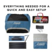 6-Person Connectable Tent with Fast Pitch Setup, Blue image 7