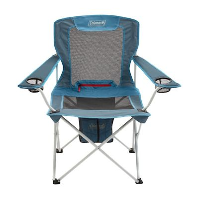 All-Season Folding Camp Chair with Removable Insulated Cover, Dusk