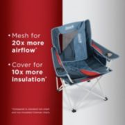 All-Season Folding Camp Chair with Removable Insulated Cover, Dusk image 2