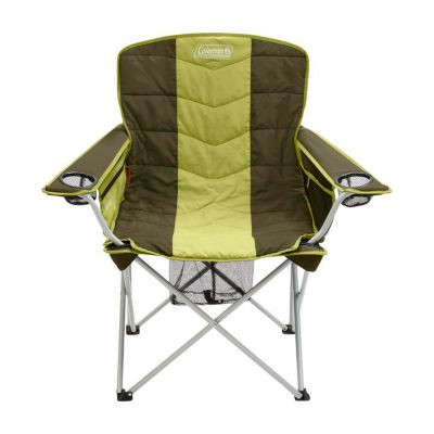 Coleman All-Season X-Large Folding Camp Chair with Removable Insulated Cover, Olive