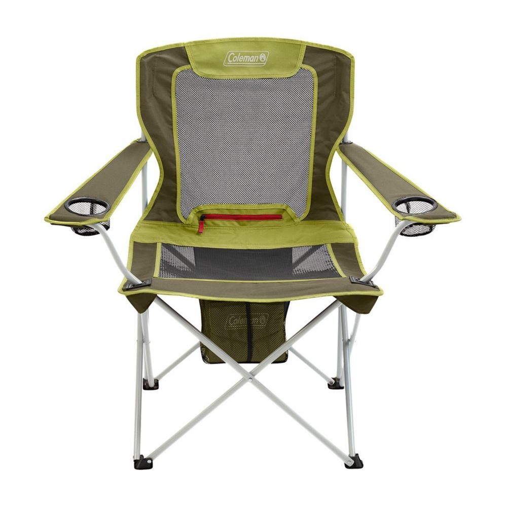 All-Season Folding Camp Chair with Removable Insulated Cover, Olive
