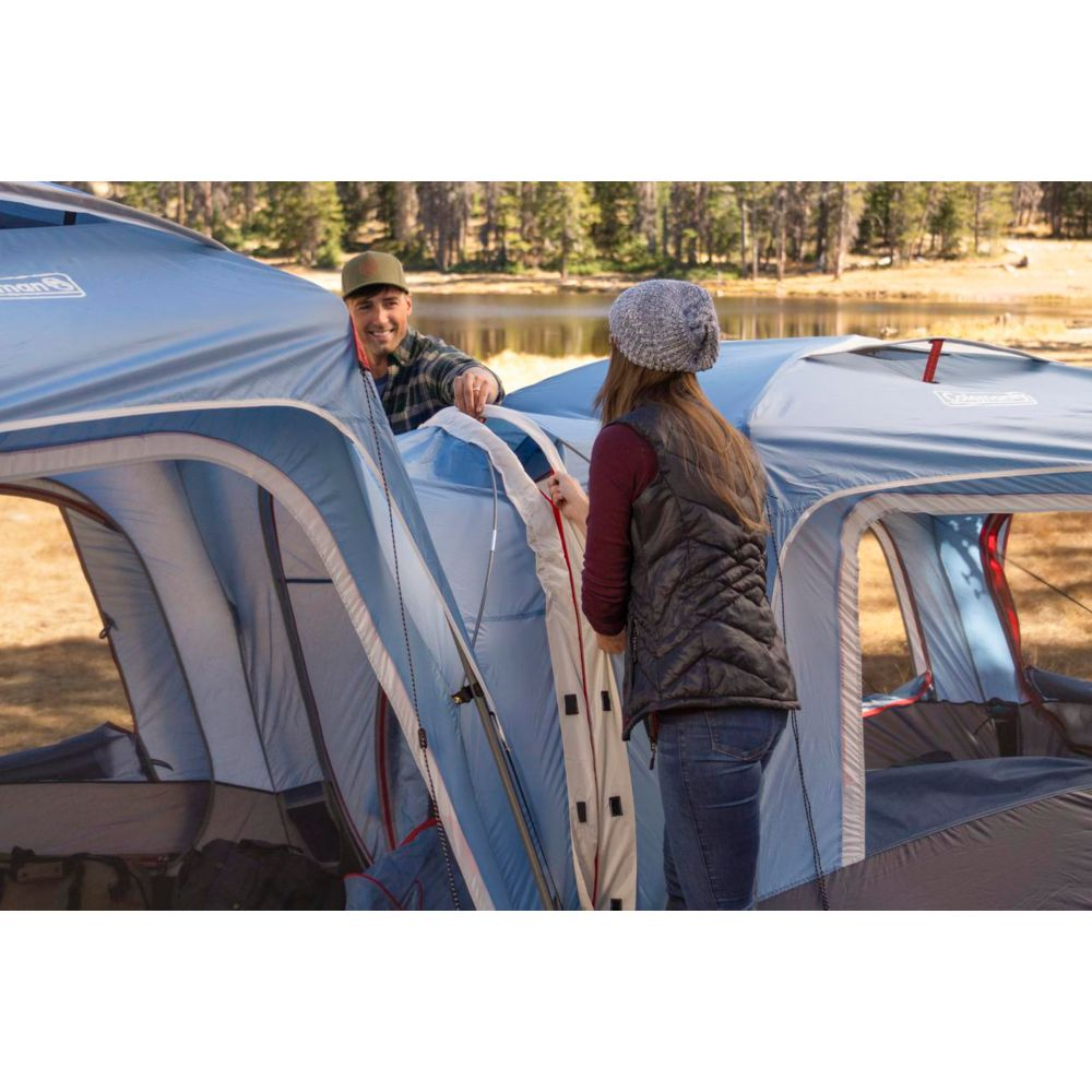 fbfdb6f5b85 ... Coleman 3-Person Connecting Modular Tent System with Fast Pitch Setup,  Blue image 4 ...