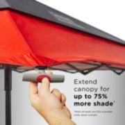 Expandable Shade Shelter, 9 x 9 Feet image 3