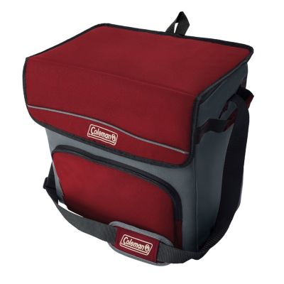 54-Can Collapsible Soft-Sided Cooler Bag with 32-Hour Ice Retention