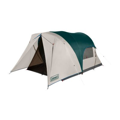 4-Person Cabin Camping Tent with Enclosed Weatherproof Screen Room