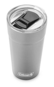 Insulated Stainless Steel Brew Tumbler with Slidable Lid image 3