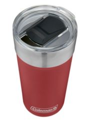 Insulated Stainless Steel Brew Tumbler with Slidable Lid image 4