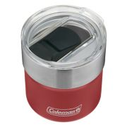 Sundowner Insulated Stainless Steel Rocks Glass with Slidable Lid, 13oz, Slate image 3