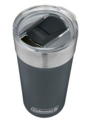 Insulated Stainless Steel Brew Tumbler with Slidable Lid