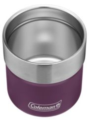 Sundowner Insulated Stainless Steel Rocks Glass with Slidable Lid image 2