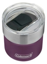 Sundowner Insulated Stainless Steel Rocks Glass with Slidable Lid image 3
