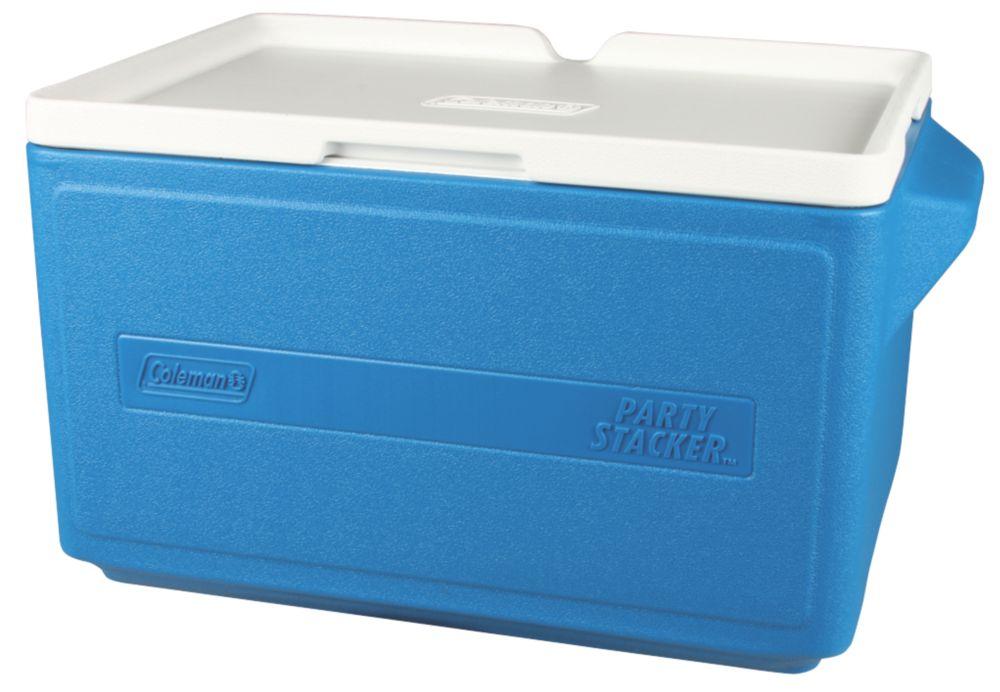 Glacière superposable Party Stackerᵐᶜ, 31 litres - bleue