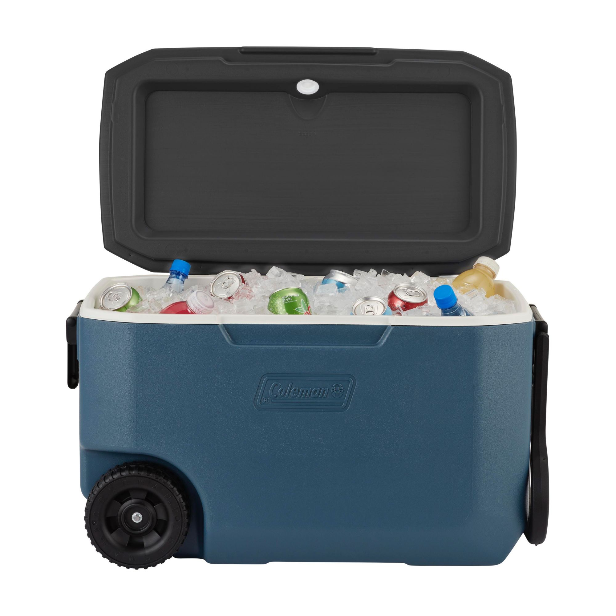Blue Coleman 62-Quart Xtreme Ice Chest 5-Day Heavy-Duty Cooler with Wheels
