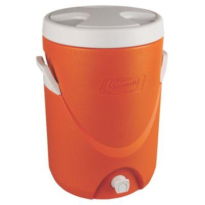5 Gallon Beverage Cooler - Orange