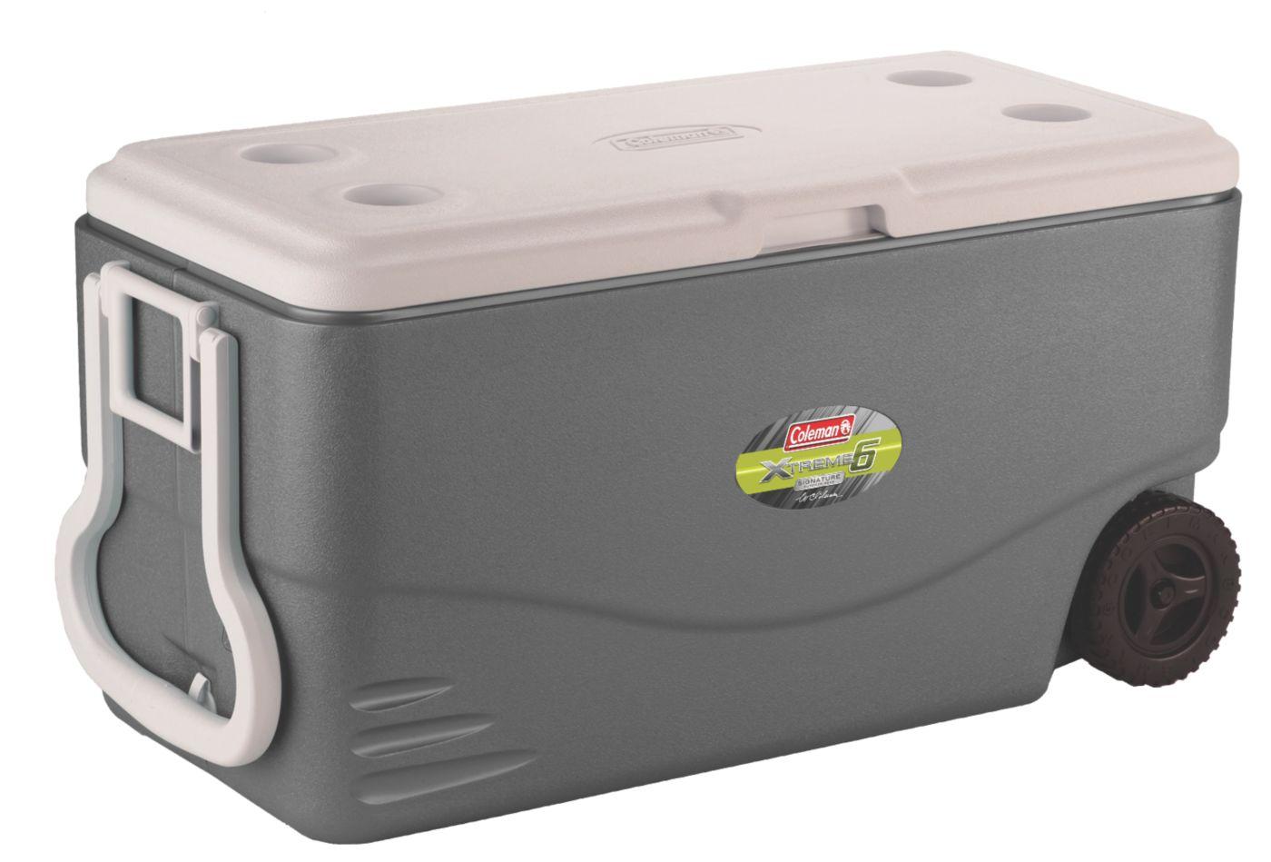 82 quart ultimate xtreme 6 wheeled cooler