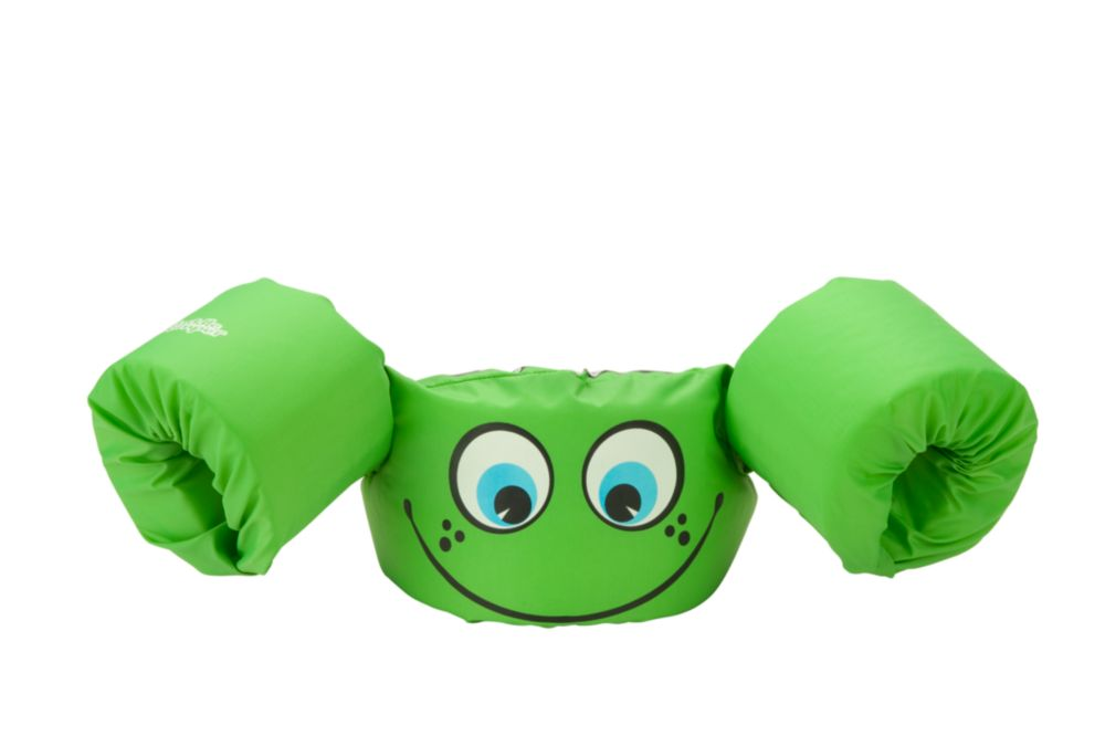Puddle Jumper® Life Jacket - Green Smile