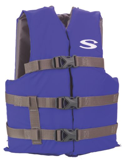 Adult Nylon Universal Vest - Blue