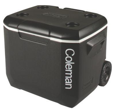 Cooler 57L Wheeled Black Silver BCF