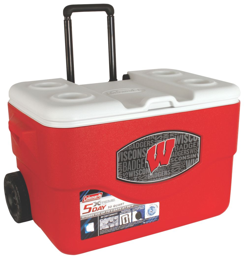 50 Qt Xtreme® Wheeled Cooler - Wisconsin