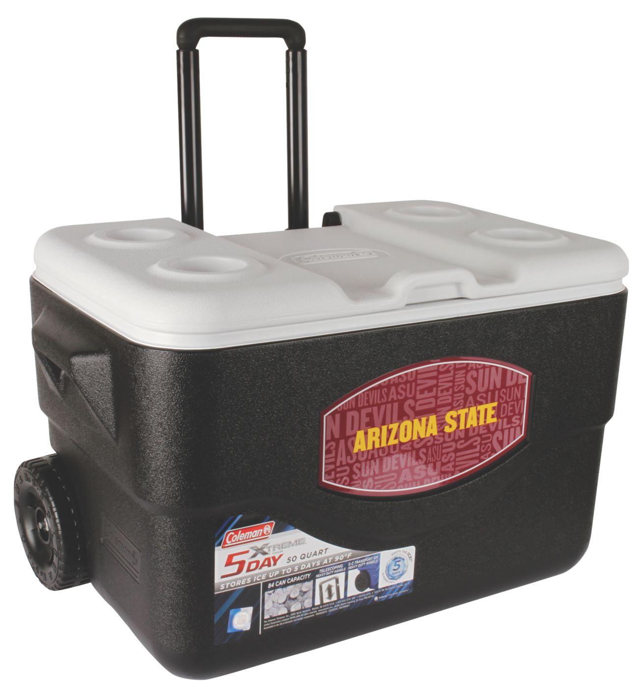50 qt xtreme wheeled cooler arizona state