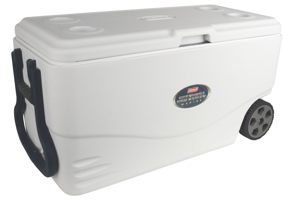 82 Quart Offshore Pro Series™ Marine Wheeled Cooler