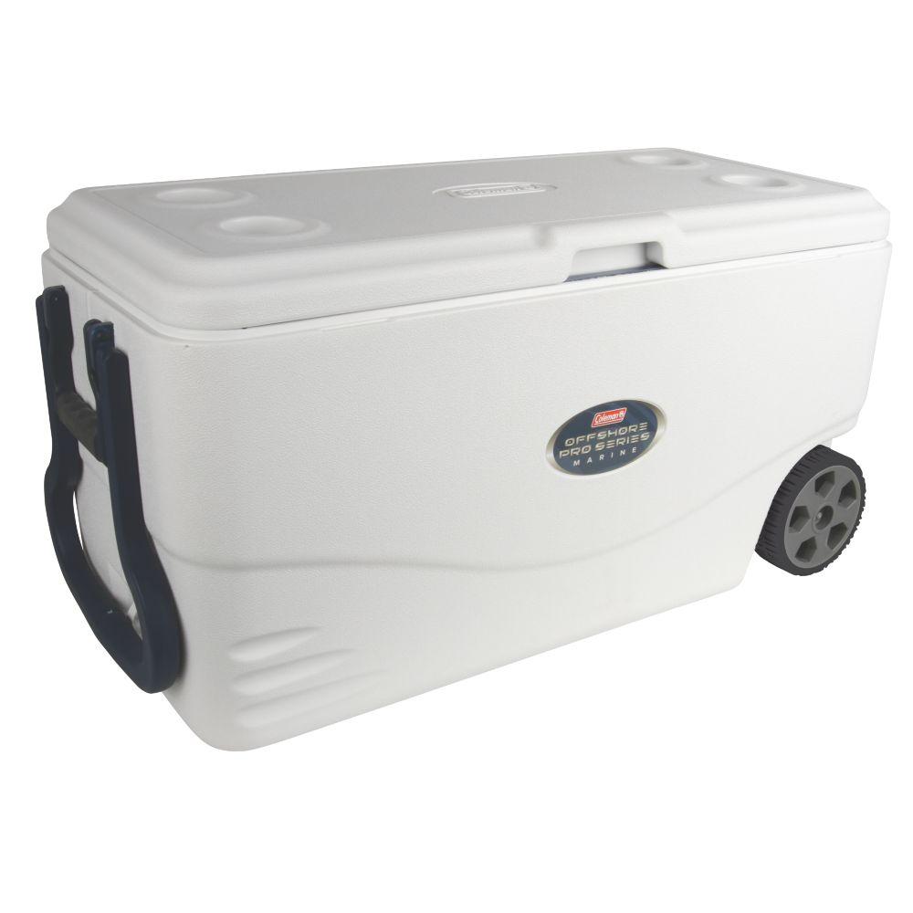 82 Quart Offshore Pro Series™ Marine Wheeled Cooler