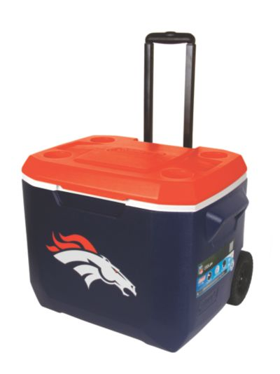 60 Quart Performance Wheeled Cooler - Denver Broncos