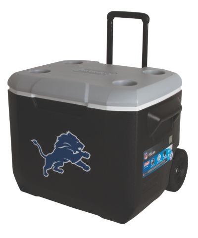 60 Quart Performance Wheeled Cooler - Detroit Lions