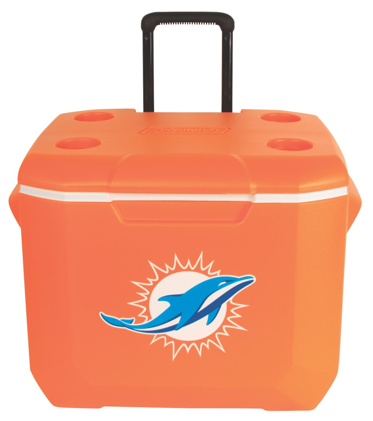 ... 60 Quart Performance Wheeled Cooler - Miami Dolphins ...  sc 1 st  Coleman & 60 Quart Performance Wheeled Cooler - Miami Dolphins - USA