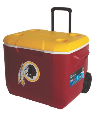 60 Quart Performance Wheeled Cooler - Washington Redskins