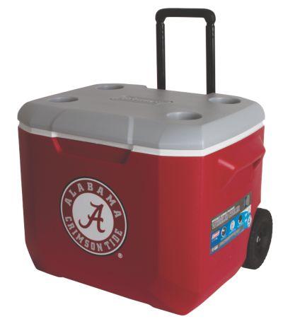 60 Quart Performance Wheeled Cooler - Alabama Crimson Tide
