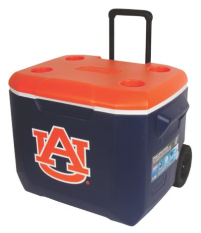 60 Quart Performance Wheeled Cooler - Auburn Tigers