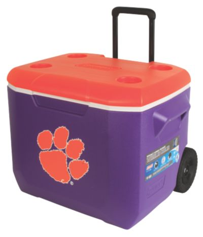 60 Quart Performance Wheeled Cooler - Clemson Tigers