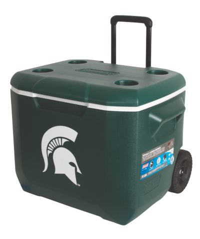60 Quart Performance Wheeled Cooler - Michigan State Spartans
