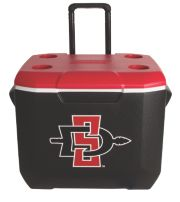 60 Quart Performance Wheeled Cooler - San Diego State Aztecs