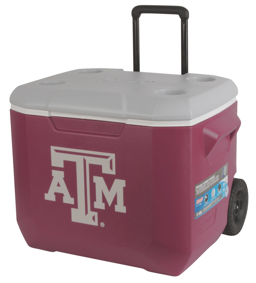 60 Quart Performance Wheeled Cooler - Texas A&M Aggies