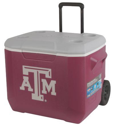 60 Quart Performance Wheeled Cooler - Texas A&M Aggies