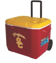 60 Quart Performance Wheeled Cooler - USC Trojans