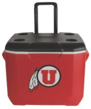 60 Quart Performance Wheeled Cooler - Utah Utes