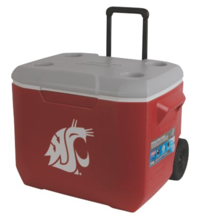 60 Quart Performance Wheeled Cooler - Washington State Cougars