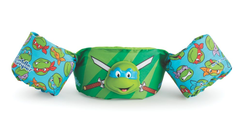 Puddle Jumper® Kids Deluxe 3D Life Jacket, Teenage Mutant Ninja Turtles™, Leonardo