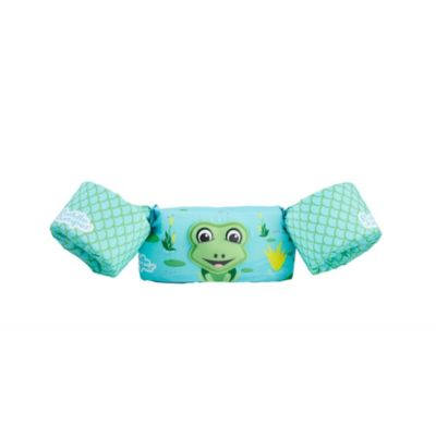 Puddle Jumper® Kids Deluxe 3D Life Jacket, Frog, 30-50 Pounds