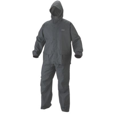 Men's .35mm PVC/Polyester Rain Suit