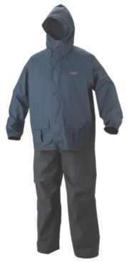 MEN'S PVC/POLY RAIN SUIT