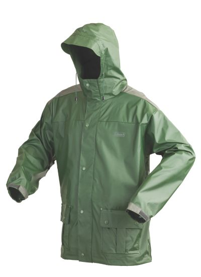 Men's PVC Nylon Jacket