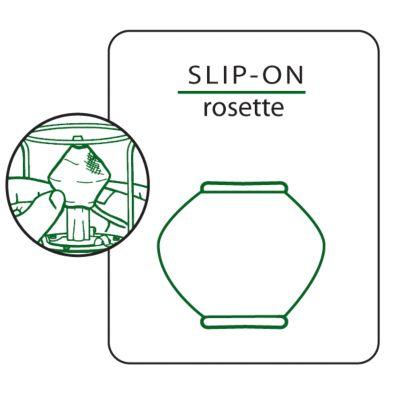 # 51 Slip-on Rosette Mantle