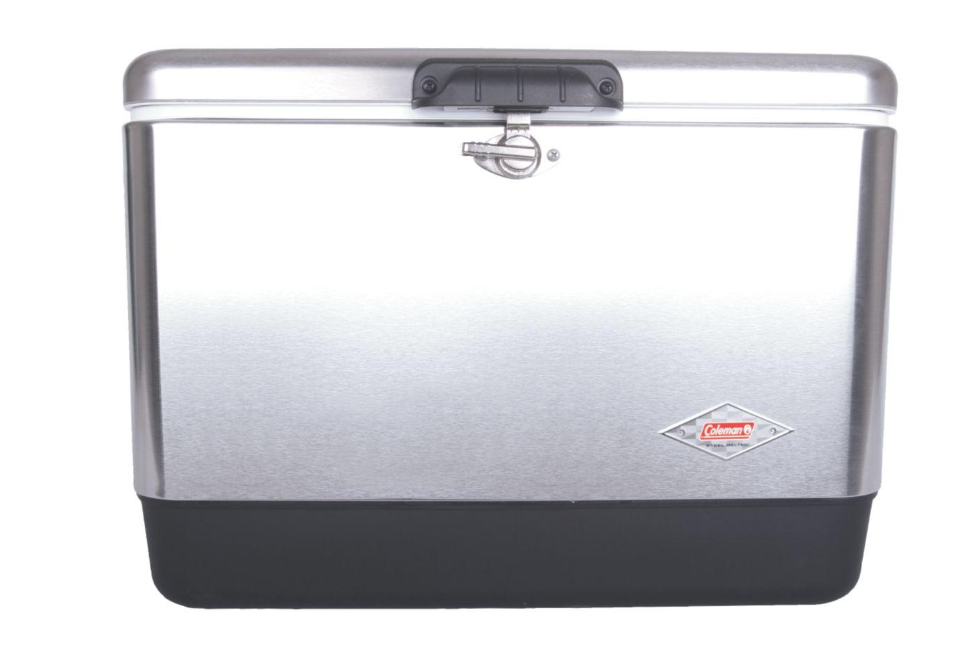 54 Quart Coleman® Stainless Steel Cooler